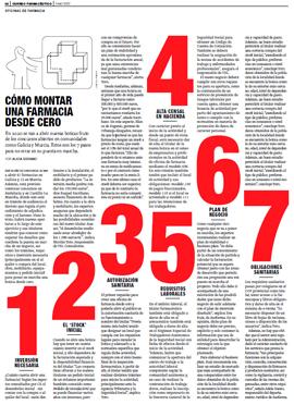 CORREO FARMACÉUTICO - Cómo montar una farmacia desde cero