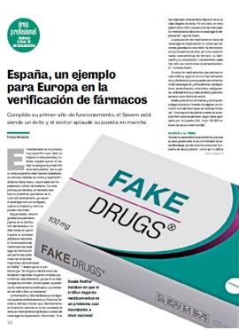 CORREO FARMACÉUTICO - España un ejemplo para Europa en la verificación de fármacos