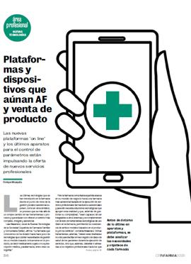 CORREO FARMACÉUTICO - Plataformas y dispositivos aúnan AF y venta de producto