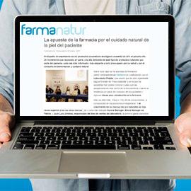 FARMANATUR - La apuesta de la farmacia por el cuidado natural de la piel del paciente