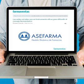 FARMAVENTAS - Las redes sociales son un instrumento eficaz para difundir el consejo farmacéutico