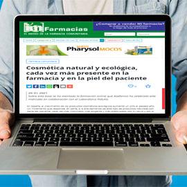 IMFARMACIAS - Cosmética natural y ecológica cada vez más presente en la farmacia y en la piel del paciente