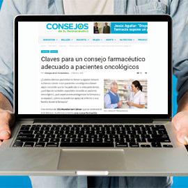 CONSEJOS DE TU FARMACÉUTICO - Claves para un consejo farmacéutico adecuado a pacientes oncológicos