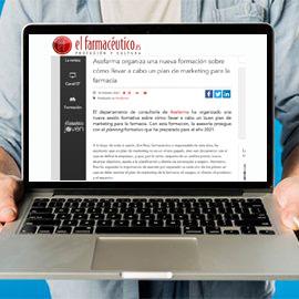 ELFARMACEUTICO - Asefarma organiza una nueva formación sobre cómo llevar a cabo un plan de marketing para la farmacia