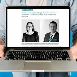 FARMAVENTAS - Asefarma nombra a Isabel Aragón Directora Financiera y a Jorge Martín Coordinador nacional de las delegaciones exteriores