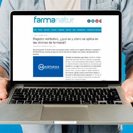 FARMANATUR - Registro retributivo qué es y cómo se aplica en las oficinas de farmacia