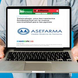 IMFARMACIAS - Teletrabajo una herramienta fundamental en la nueva normalidad para las pymes